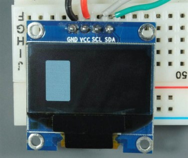 ESP32 ESP8266 Arduino OLED Display Rectangle Vertical Filled