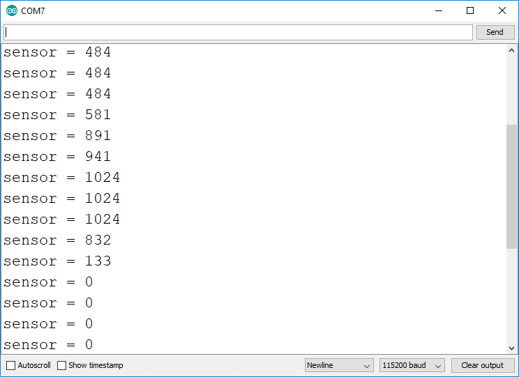 ESP8266 ADC read analog value Arduino IDE Demonstration