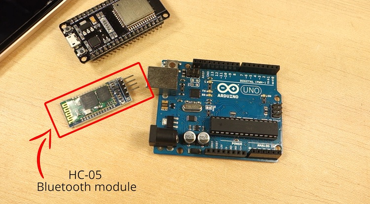 hc-05 bluetooth module arduino ESP32