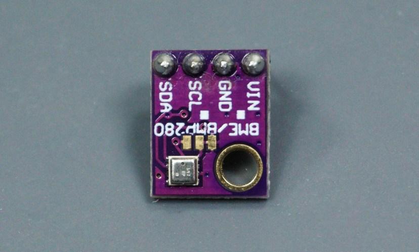 BME280 Sensor I2C Module reads pressure, temperature, and humidity