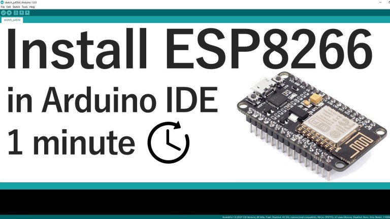 Installing the ESP8266 Board in Arduino IDE Windows, Mac OS X, Linux