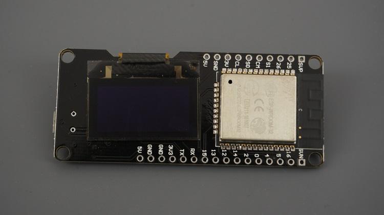 WeMos Lolin32 ESP32 built-in OLED Display SSD1306