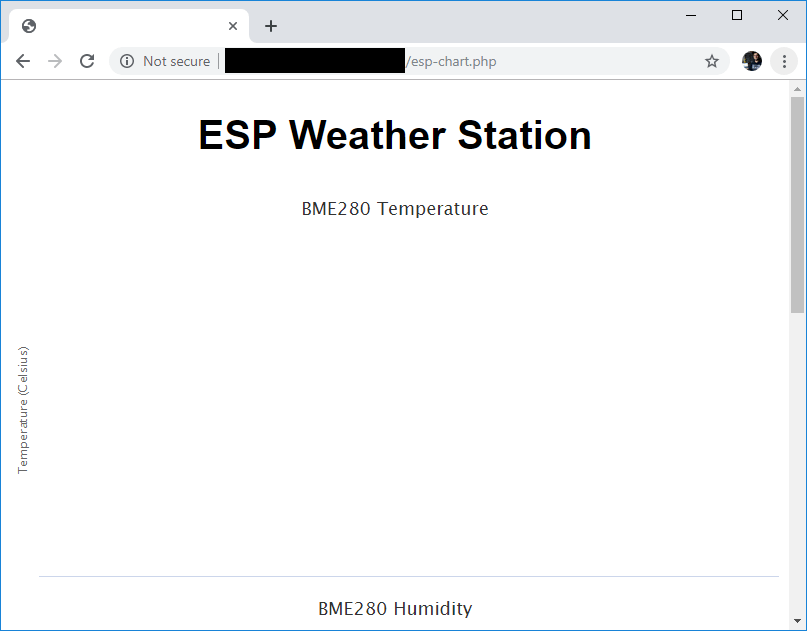 ESP32 ESP8266 Test ESP Data PHP URL