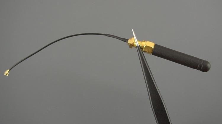 Alternative Antenna for TTGO T-Call ESP32 SIM800L Board