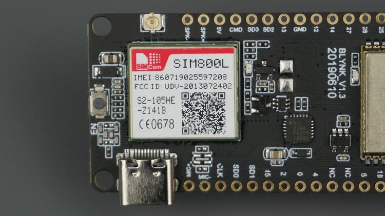 TTGO T-Call ESP32 SIM800L GPS GPRS Board