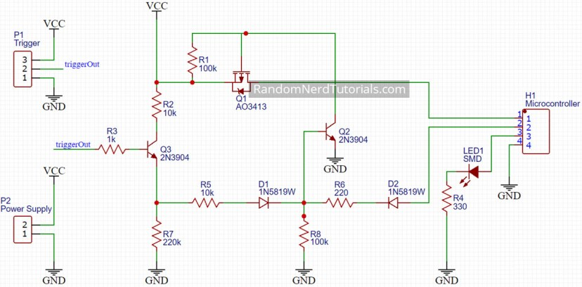 Auto Power Off Latching Power Circuit Schematic Design