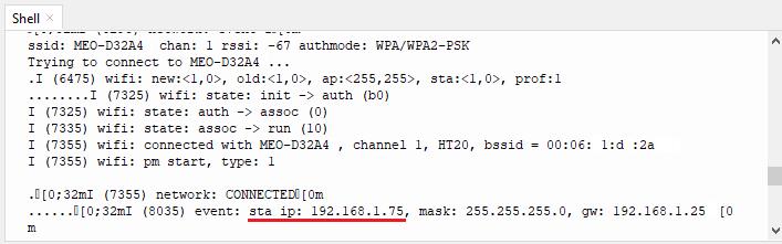 ESP32 Station IP Address - WiFiManager MicroPython
