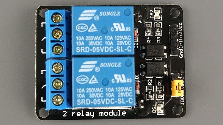 2-channel Relay Module