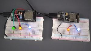 ESP32 ESP8266 Control GPIOs from Anywhere circuit schematic diagram