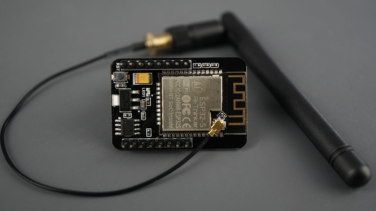 ESP32-CAM Connect External Antenna Extend Wi-Fi Coverage Signal strength