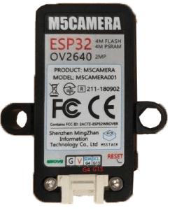 M5-Camera Model B Pins GPIO