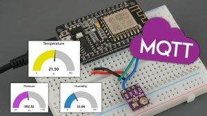 ESP8266 NodeMCU MQTT Publish BME280 Sensor Readings Arduino IDE