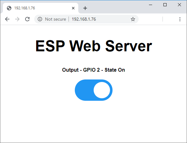 ESP32 ESP8266 NodeMCU Control Outputs with Web Server and a Physical Button Simultaneously Turn On