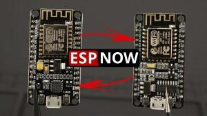 ESP-NOW Two-Way Communication Between ESP8266 NodeMCU Boards