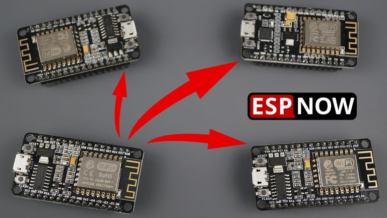 ESP-NOW with ESP8266 NodeMCU: Send Data to Multiple Boards one-to-many