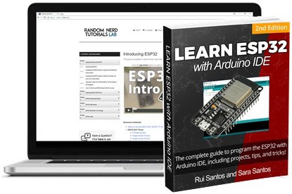 Learn ESP32 with Arduino IDE 2nd Edition Rui Santos and Sara Santos eBook video course