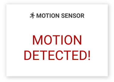 ESP32 IoT Dashboard Web Server Motion
