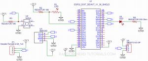ESP32 IoT Shield PCB Schematic Circuit Diagram