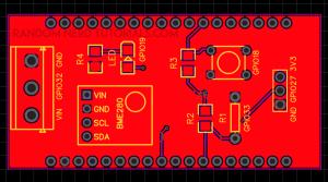ESP32 IoT Shield PCB Schematic footprints