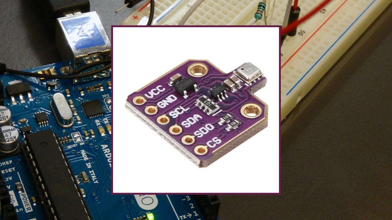 Arduino Board BME680 Gas sensor humidity barometric pressure ambient temperature gas air quality Arduino IDE