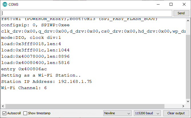 ESP-NOW get ESP32 IP address and Wi-Fi channel