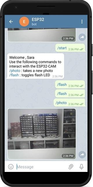 ESP32-CAM Take and Send Photo to Telegram Demonstration