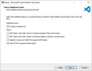 Install VS Code Step 3