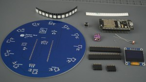 ESPCB Weather Station Interface Shield Components Parts Required