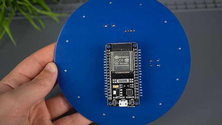 Stacked board PCB Weather Station Interface Shield