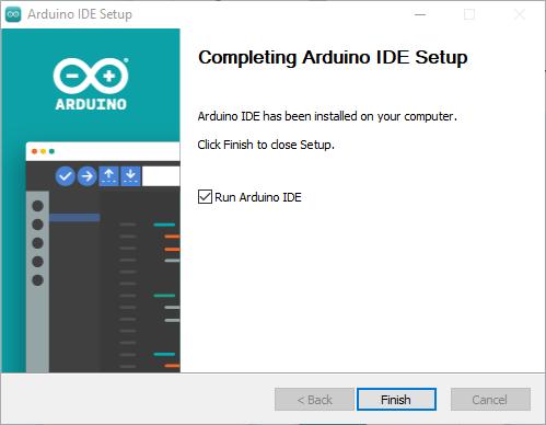 Arduino IDE 2.0 installation successful Windows Mac OS X Linux