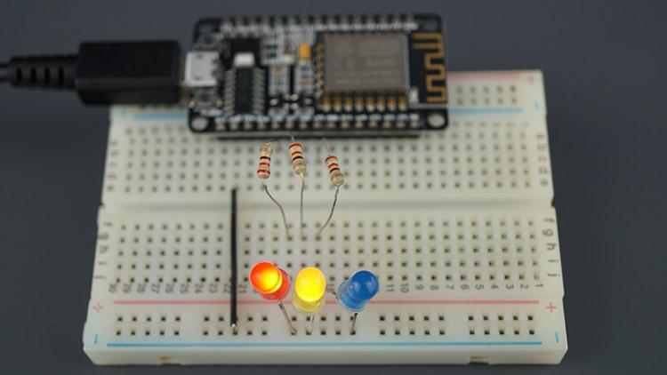 ESP8266 NodeMCU Multiple Sliders Web Server Webscocket Arduino