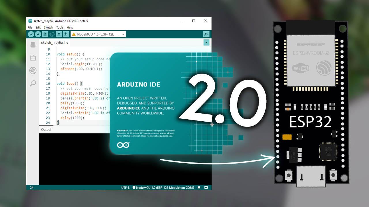 Installing Programming ESP32 Board in Arduino 2.0 Windows Mac OS X Linux
