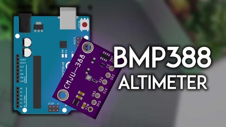 Guide for BMP388 Altimeter with Arduino Pressure Altitude Temperature