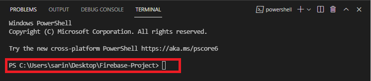 Install Firebase Tools 2