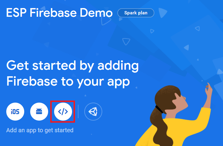Add App to Firebase project