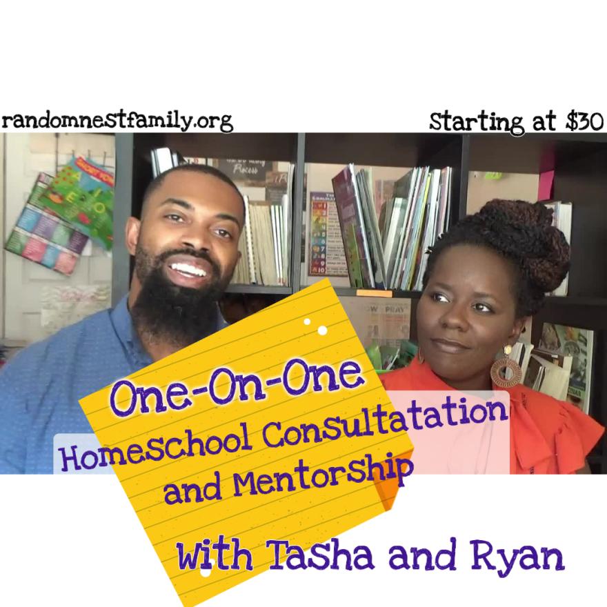 Homeschool consultation with Randomnestfamily.org