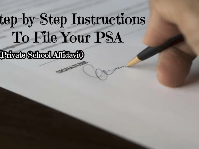How to file your PSA at randomnestfamily.org