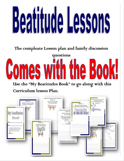 My Beatitudes Book and lesson preview @randomnestfamily.org