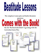 The Beatitudes Book and lesson preview @randomnestfamily.org