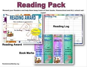 Reading awards @randomnestfamily.org