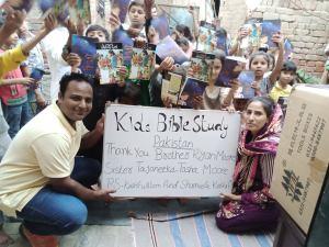Kids Bible Study In Pakistan @Randomnestfamily.org