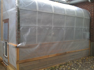 Greenhouse Winterizing