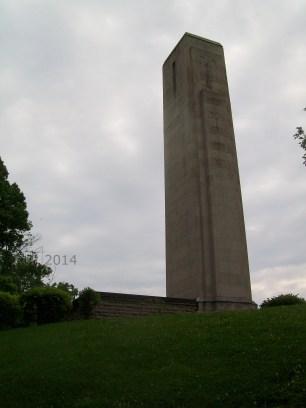 William H Harrison Tomb