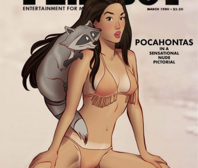 Disney Princesses Reimagined As Playboy Cover Girls As They Grow Up