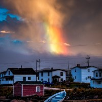Rainbow Chasing on Fogo Island