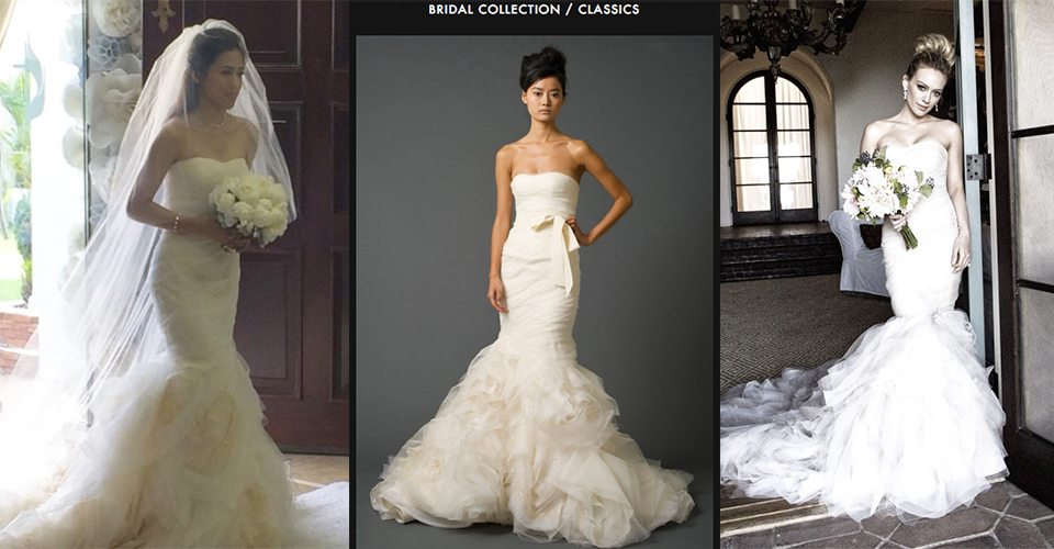 Look toni gonzaga wears vera wang gemma aka hilary duff in any wedding junglespirit Gallery