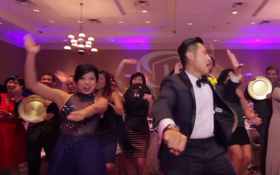 Epic Wedding Music Video With Couple And 250 Guests Dancing