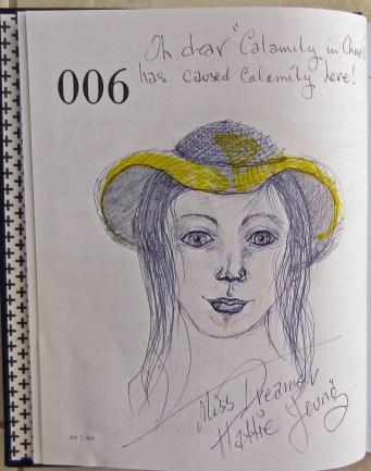 6. Miss Dreamer 'Hattie Young'.