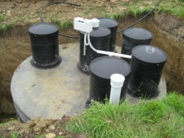Septic in place