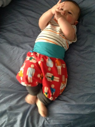 #Yoggers on a wiggle-bum baby